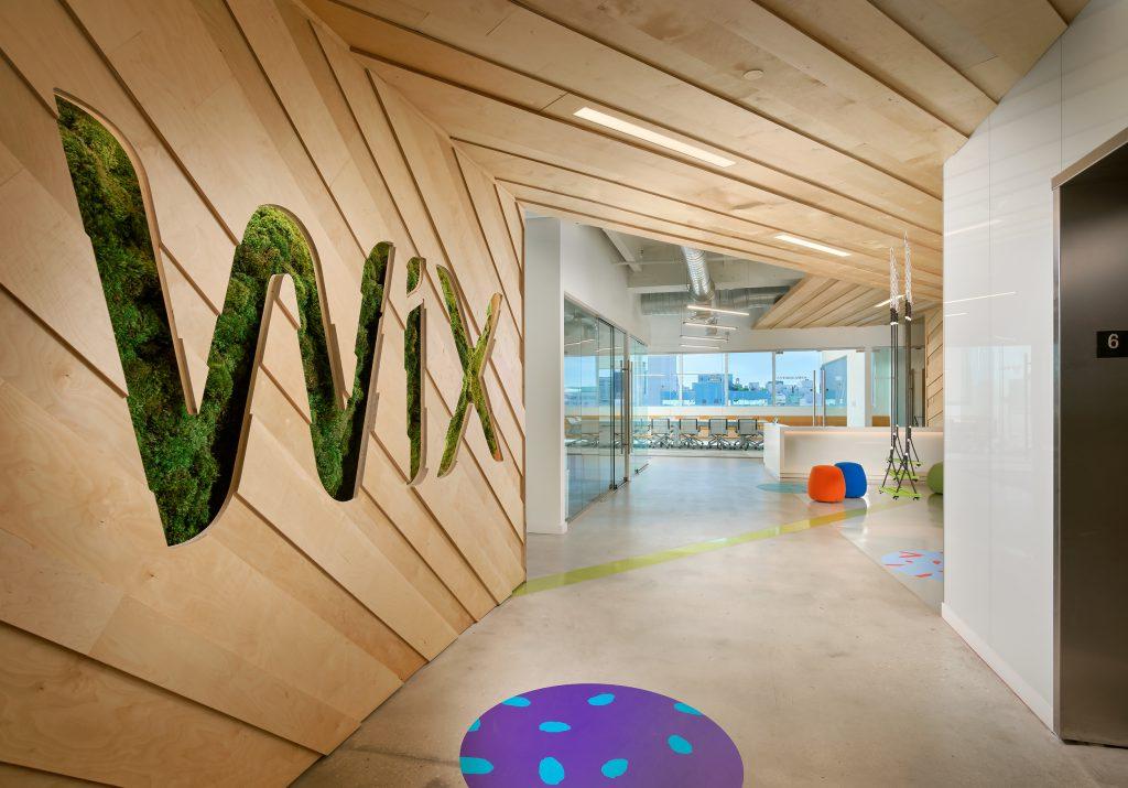 Wix new office in TLV port BY Ellen Chechkin