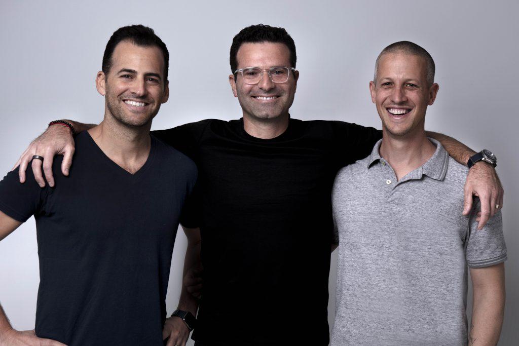 Bizzabo founders: Alon Elroy, Boaz Katz and Eran Ben Shushan | Photo: Bizzabo