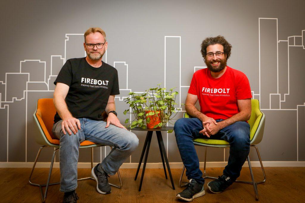 Firebolt founder - Eldad Farkash and Saar Bitner | Photo: Shlomi Yosef