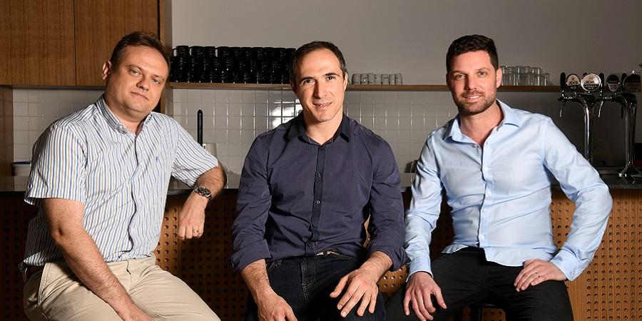 Fireblocks co-foundersL Michael Shauluv, Pavel Berngoltz and Idan Efrat | photo: Yossi Zeliger