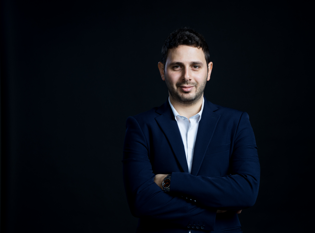 Avidor Bartov, Forbes Israel 30under30 graduate and founder of the cyber company Axonius, that became a unicorn this year   Photo: Ohad Aridan