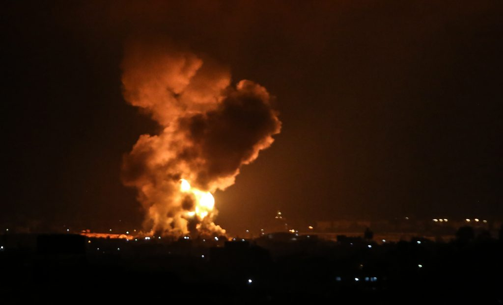 The violence in Gaza Strip | by Shutterstock