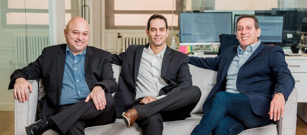 Right: Gabriel Hamani, Ran Eliasaf and Tal Michaelson. Photo: Huaiyi Tasi