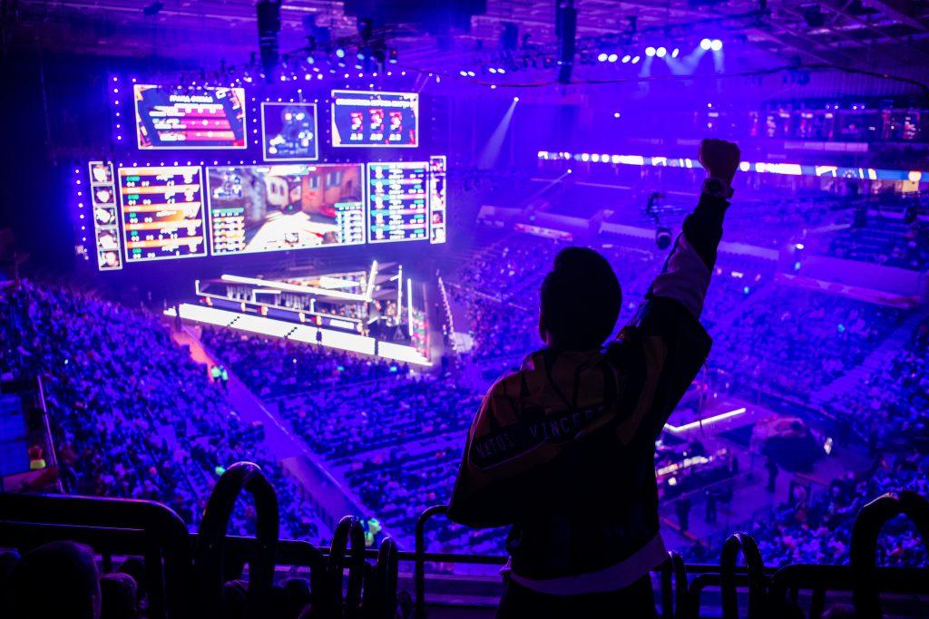 Esport tournament is Moscow | Shutterstock
