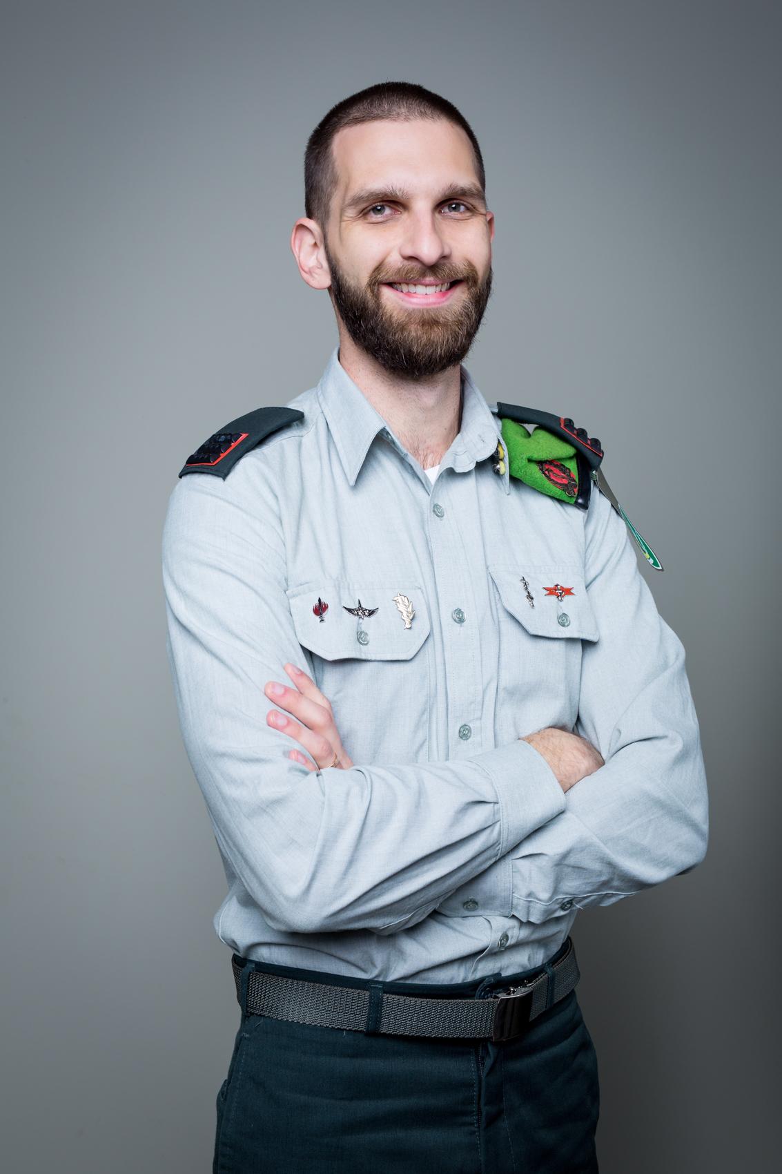 סרן ד''ר אדיר זומר, צילומים: ניר סלקמן