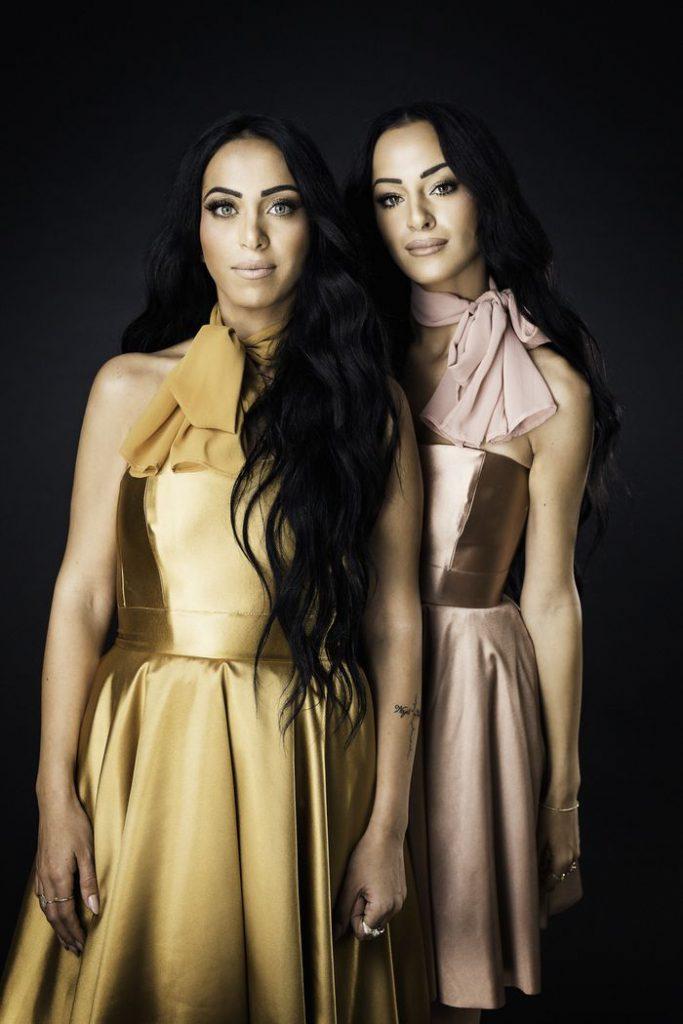 ראניה וג'ינה | צילום: ניר סלקמן