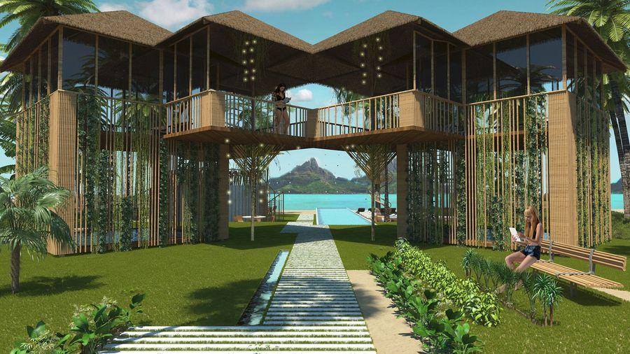 """מלון בוטיק בפיליפינים. צילום: יח""""צ"""