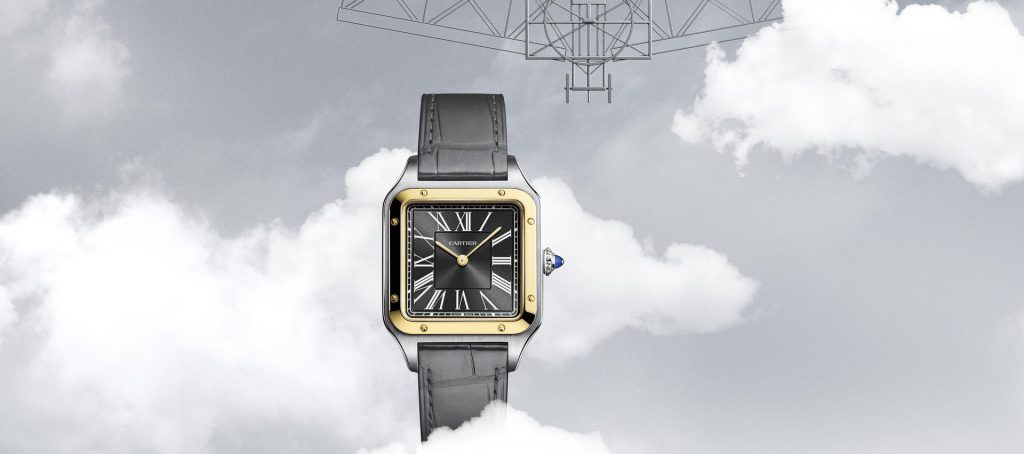 שעון קרטיה סנטוס דומון 2021. צילום: Cartier