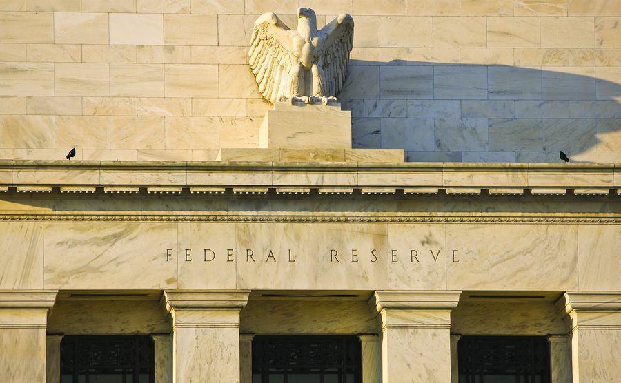 הפדרל רזרב. למרבה האירוניה, דווקא מדיניותו יצרה את בועת הביטקוין. צילום: shutterstock