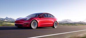 מודל 3, טסלה, חשמלית. צילום: Tesla