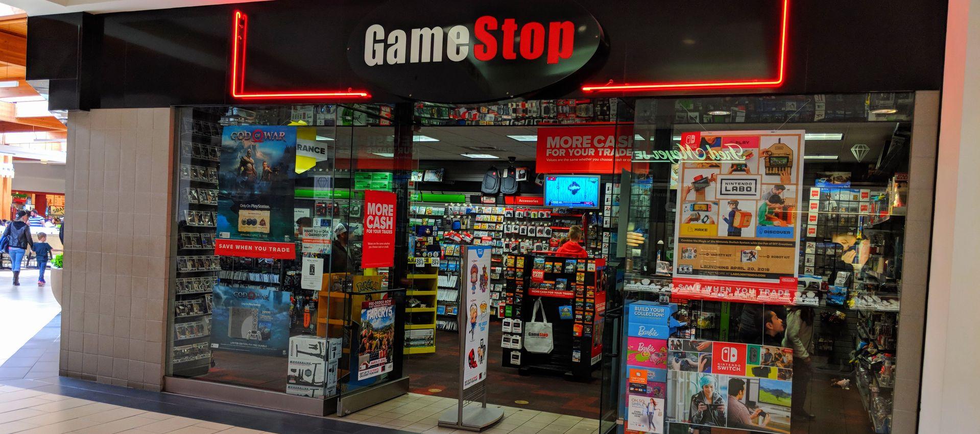 Gamestop היתה הנסחרת ביותר באמריקה כמה פעמים בשבוע שעבר. צילום: shutterstock