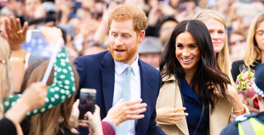 הנסיך הארי ומייגן מרקל. מנצלים את מעמדם כסלבריטאים כדי להגדיל את הונם. צילום: shutterstock