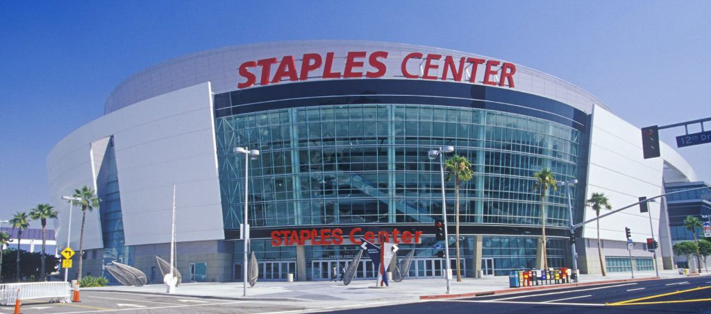 אצטדיון קבוצת הלוס אנג'לס לייקרס. צילום: shutterstock