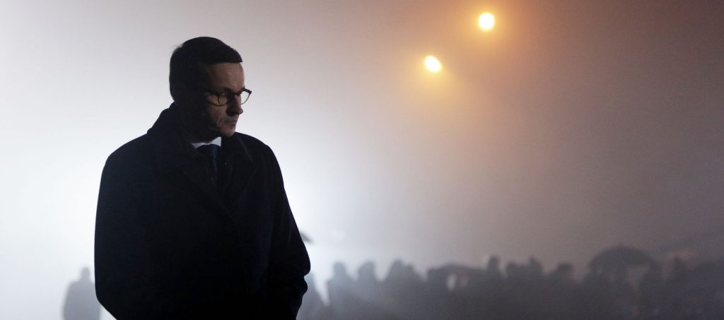ראש ממשלת פולין, טדאוש מזובייצקי. שדחה את הטענות בדבר רצון ממשלתו לעזוב את האיחוד. צילום: shutterstock