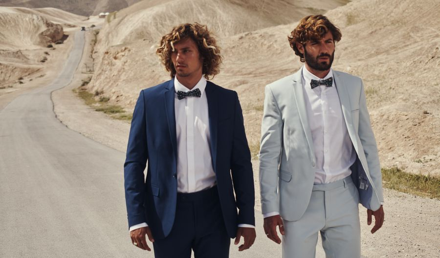 חליפות חתן קלאסיות של אופנת סגל. צילום: שי פרנקו