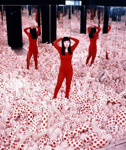 לראשונה בישראל: תערוכה של האמנית היפנית יאיוי קוסאמה