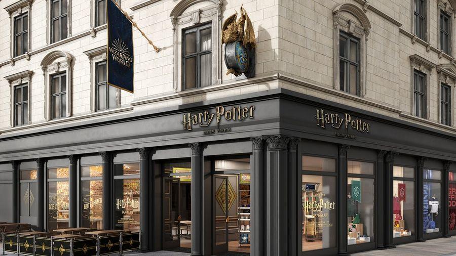 הדמיית החנות שצפויה להיפתח בניו יורק. צילום: Warner Bros