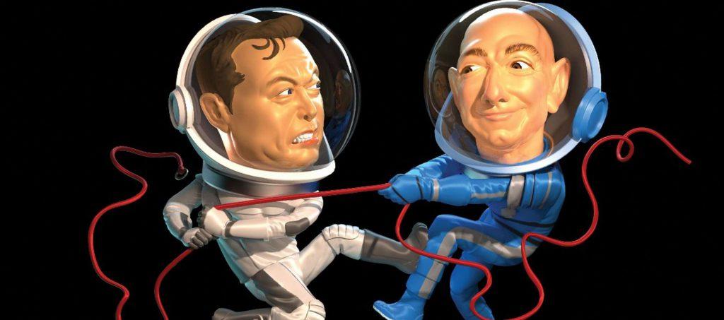 Forbes Musk Bezos - Wesley Bedrosian
