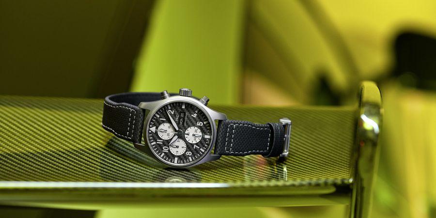 "Pilot's Watch Chronograph Edition AMG. צילום: יח""צ מרצדס"