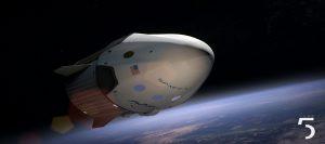 חללית ספייס X. צילום: Pexels