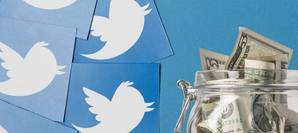 צנצנת טיפים של טוויטר. אילוסטרציה: Shutterstock