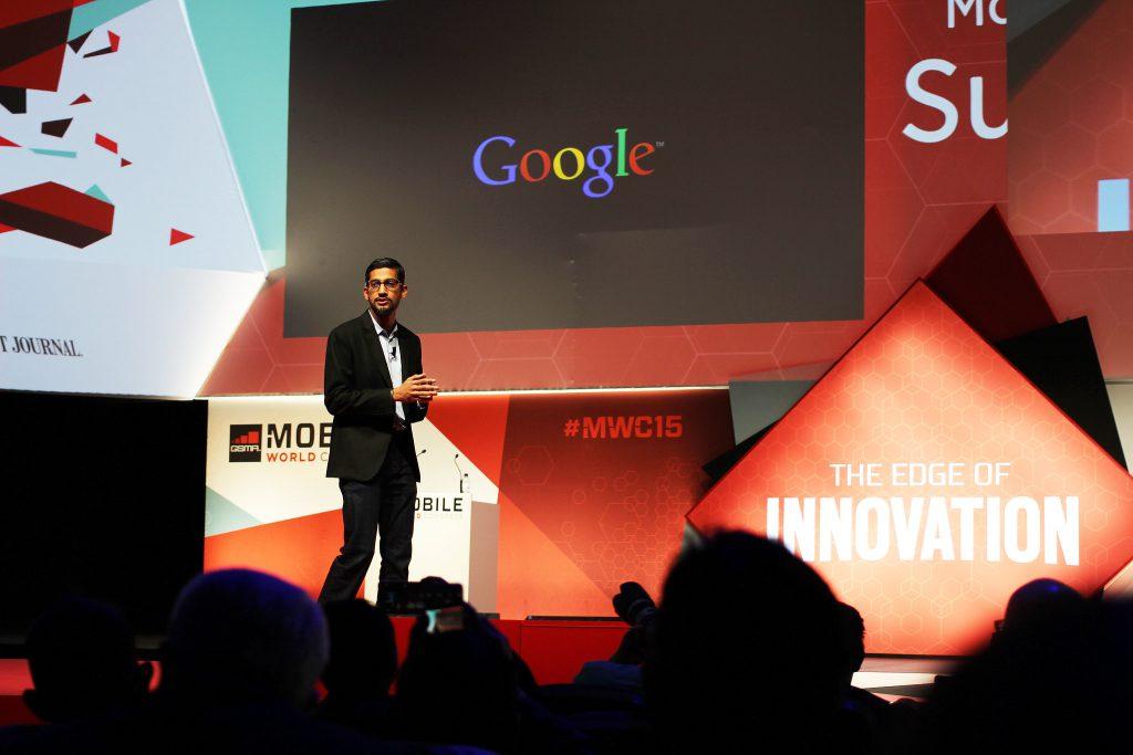 """מנכ""""ל גוגל - סונדר פיצ'אי. צילום: Maurizio Pesce"""