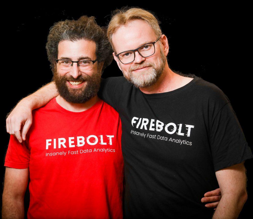 מייסדי firebolt - אלדד פרקש וסער ביטנר. צילום: שלומי יוסף