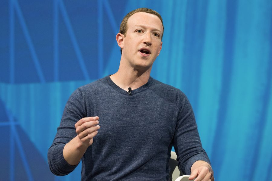 """מנכ""""ל פייסבוק צוקרברג. החברה התחייבה שלא להציג מודעות בפלטפורמות לילדים צעירים. צילום: shutterstock"""