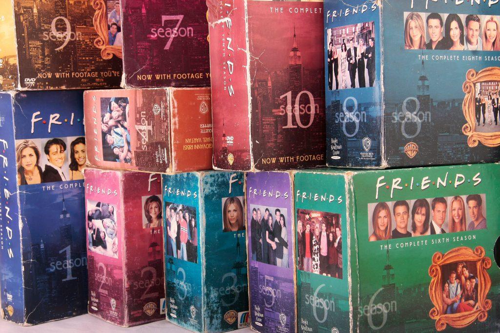 חברים - מארזי ה-DVD. צילום: Shutterstock