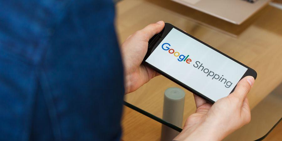 גוגל שופינג. צילום: Shutterstock