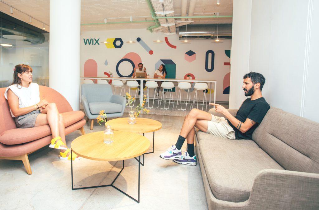 משרדי WIX   צילום: אלון צ'צקין