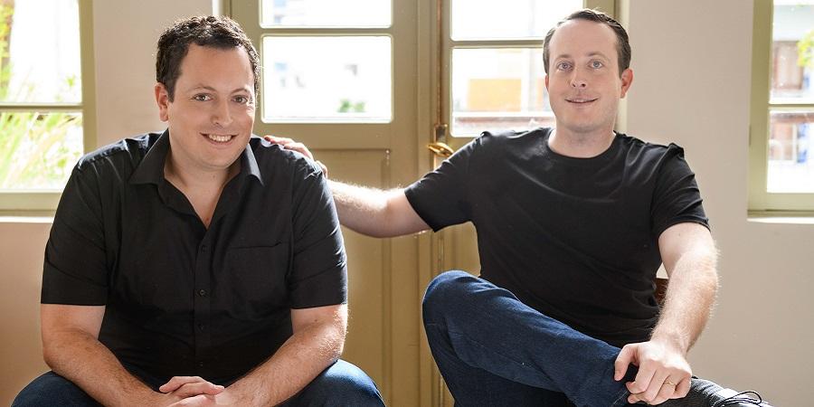 מייסדי טריגו - מיכאל ודניאל גבאי. צילום: תום ברטוב