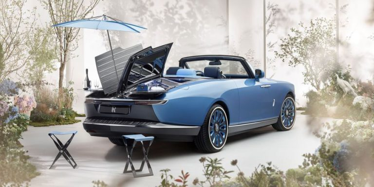 """דגם """"זנב הסירה"""". נבנה ידנית ובהתאמה אישית. צילום: Rolls-Royce Motor Cars"""