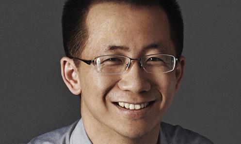 """ג'נאג יימינג - מנכ""""ל ByteDance. צילום: Bytedance"""