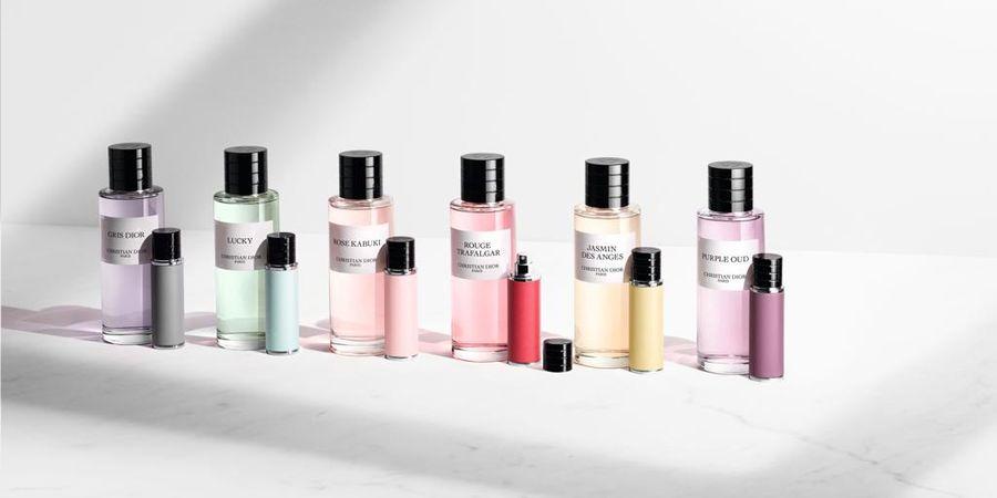 קולקציית הבשמים La Collection Privée בגודל מיוחד לנסיעות. צילום: Dior