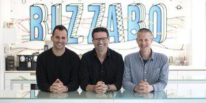 מייסדי Bizzabo - ערן בן-שושן, בועז כץ ואלון אלרואי. צילום: Bizzabo