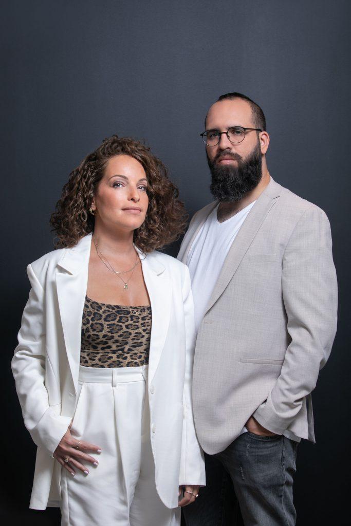 ליאת מרום ודניאל דודזון - מייסדי החברות שיפפט ומיינד טק. צילום: יוסי אלוני