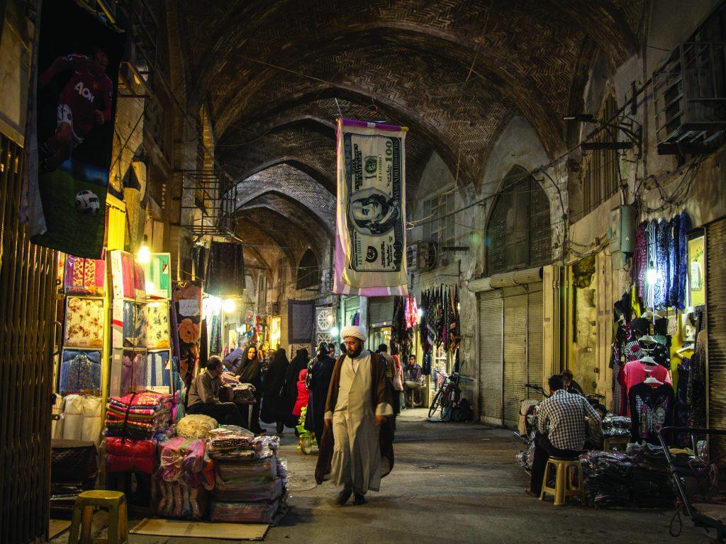 בזאר באיספהאן באיראן. צילום: Shutterstock