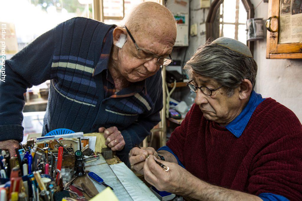 דניאל ויעקב שלמן   צילום: הדס אדלר