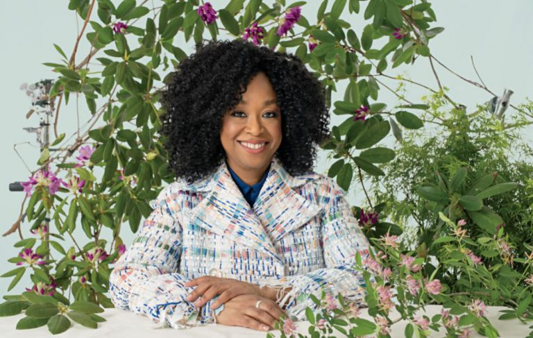 Shonda rhimes by JAMEL TOPPIN FOR FORBES