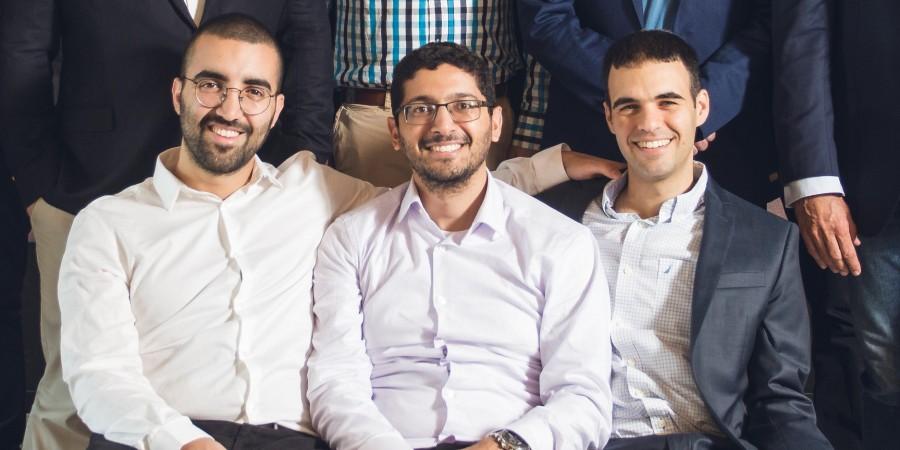 מייסדי אינטסייטס: אלון ארבץ (מימין), גיא ניצן וגל בן דוד. צילום: אינטסייטס