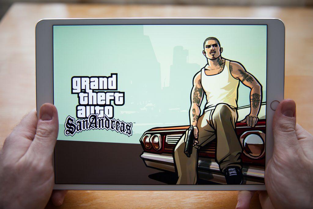 המשחק הפופולרי GTA. צילום: Shutterstock