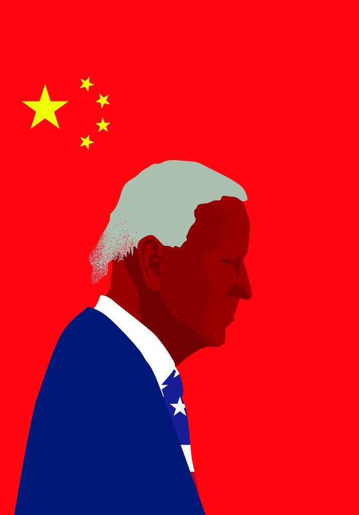 מה תהיה מדיניות הנשיא ביידן מול סין   צילום: Shutterstock