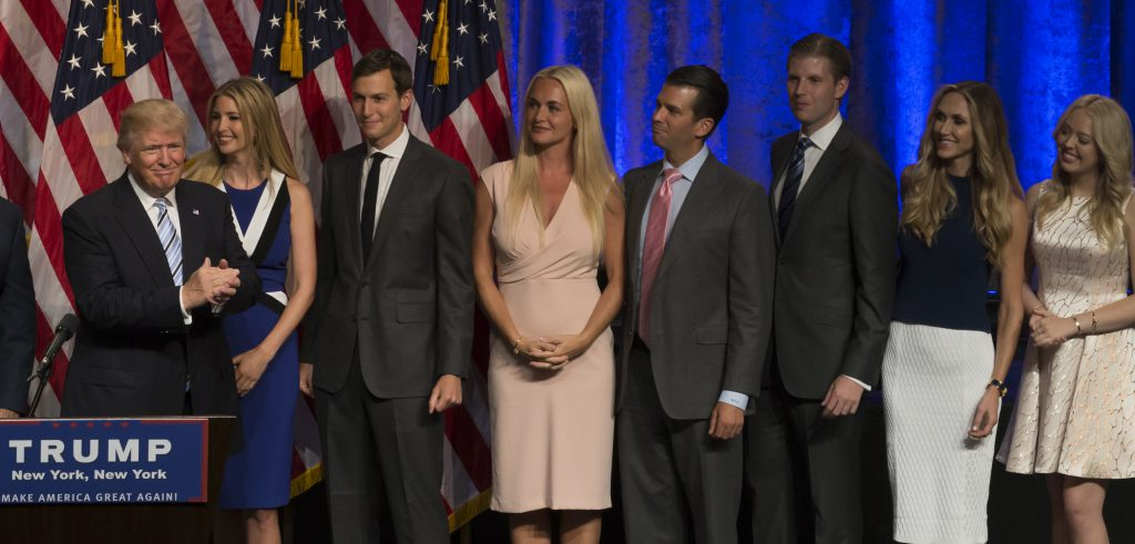 Trump family by Shutterstock