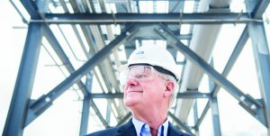 מייקל ס. סמית'. מיליונר הגז הטבעי | צילום: Matthew Mahon