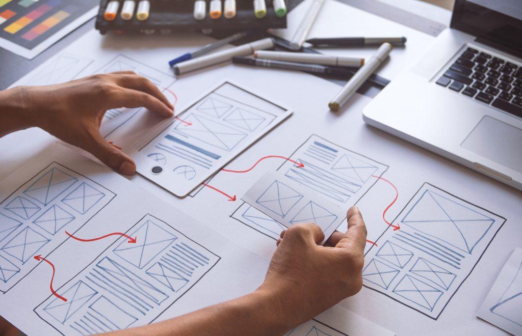 עיצוב אתרים | צילום: Shutterstock