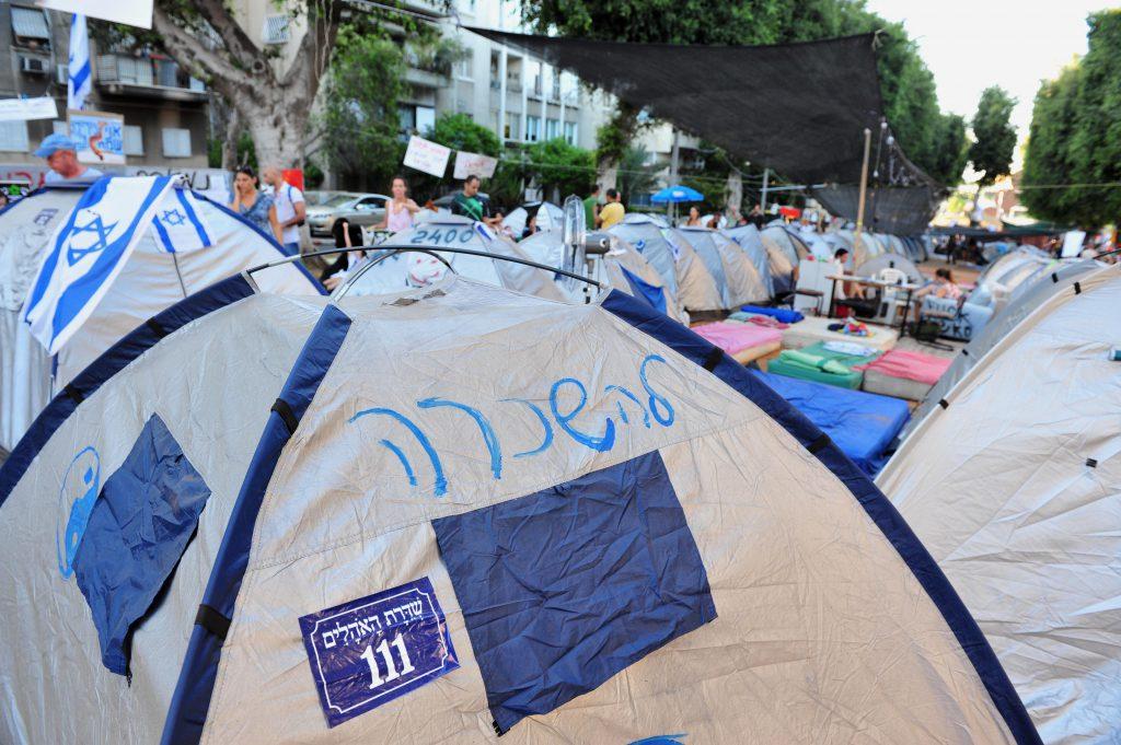 מחאת הקוטג' בשנת 2011 | צילום: Shutterstock