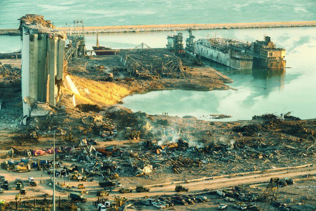 הפיצוץ בנמל ביירות | צילום: Shutterstock