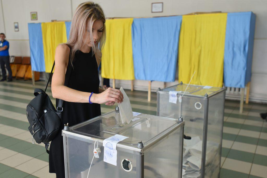 בחירות באוקראינה   צילום: Shutterstock
