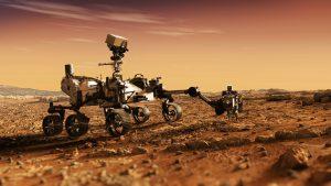 גשושית על אדמת מאדים   צילום: Shutterstock